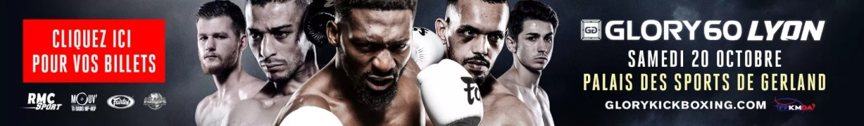 GLORY 60 LYON BILLETTERIE