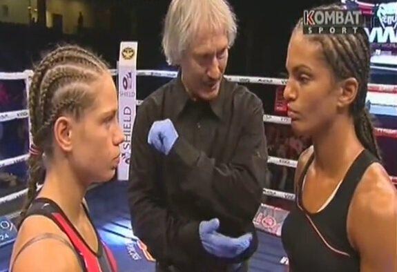 Anissa MEKSEN vs Sylwia JUSKIEWCICZ - Full Fight Video - Venum VWS 3