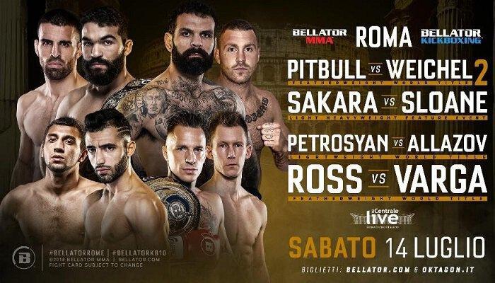 Chingiz ALLAZOV vs Giorgio PETROSYAN annoncé au Bellator Kickboxing !