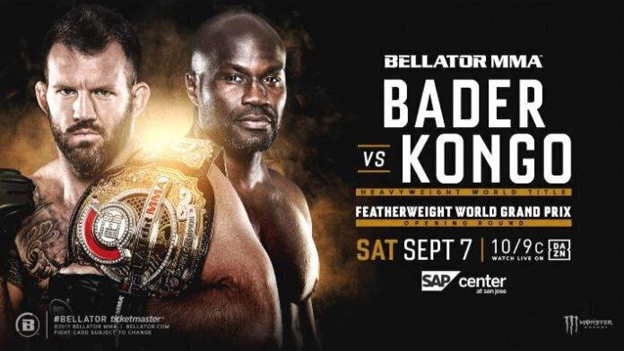 Cheick KONGO vs Ryan BADER officialisé pour la ceinture de champion du Bellator !