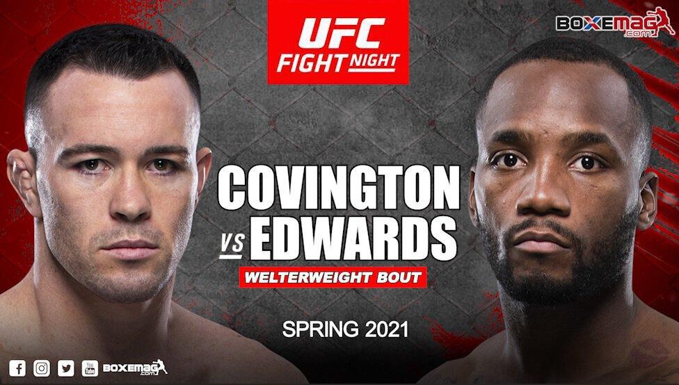 Colby Covington vs Leon Edwards visé par l'UFC