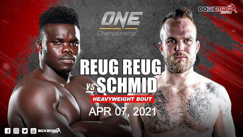 Reug Reug affrontera le Suisse Patrick Schmid dans un combat en MMA