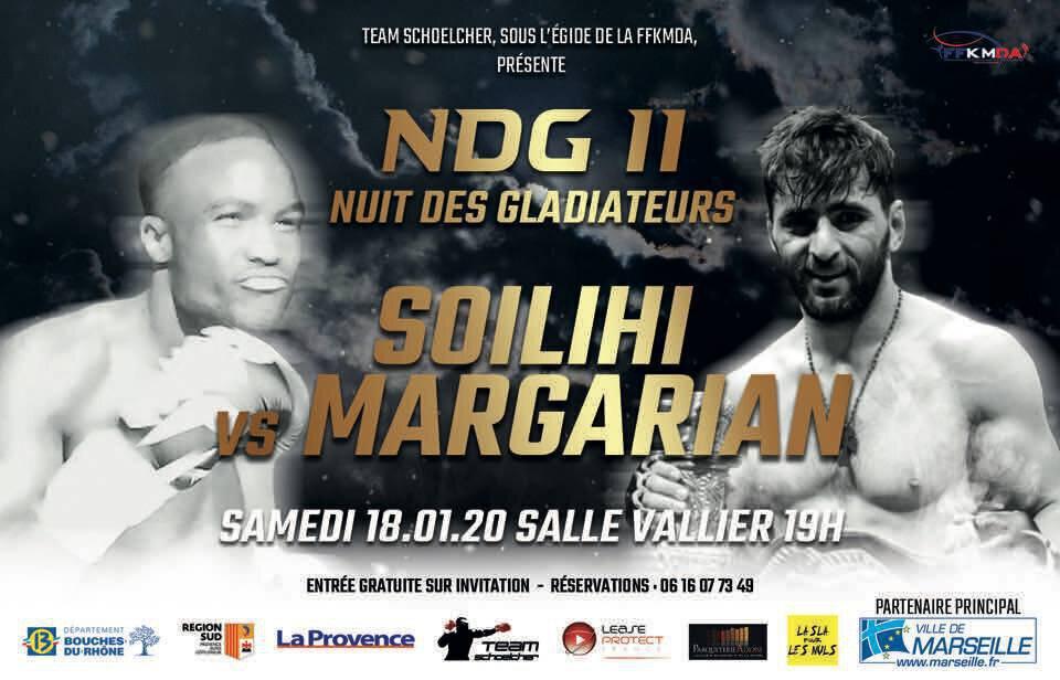 Araik MARGARIAN se lance dans le kickboxing et fera son premier combat à Vallier