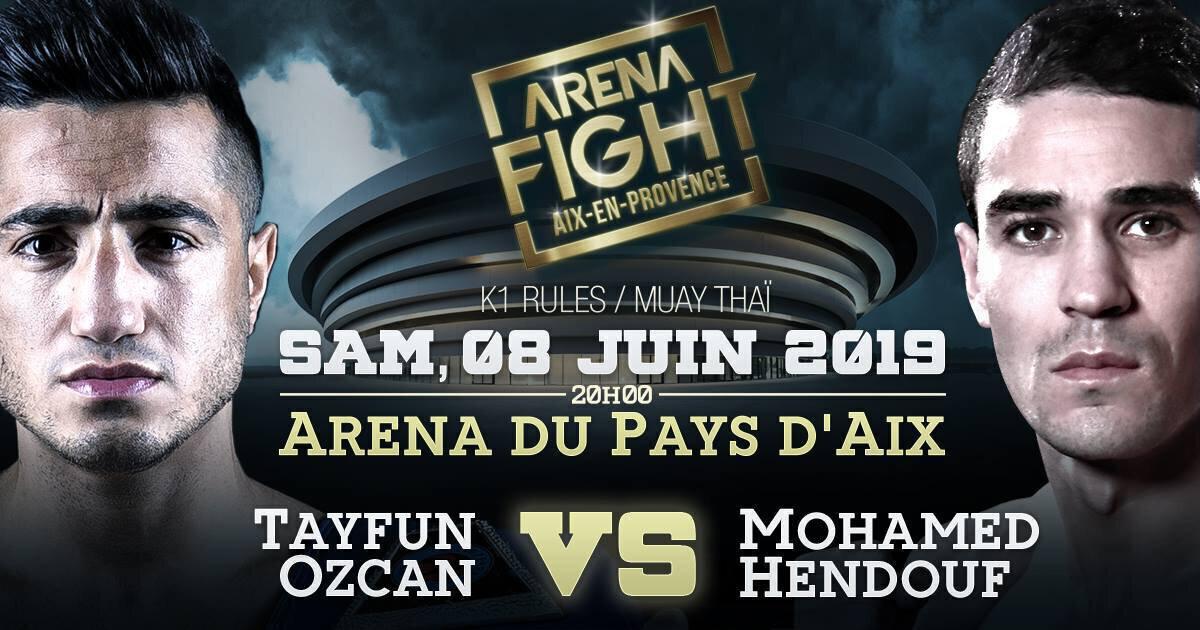 ARENA FIGHT - Tayfun OZCAN et Artur KYSHENKO arrivent en France !