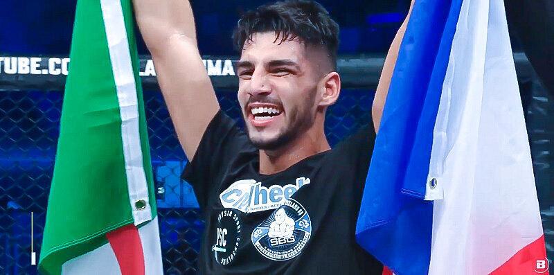 Asael Adjoudj s'offre une première victoire au Bellator