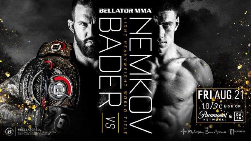 Bellator 244 Résultats - Bader vs Nemkov