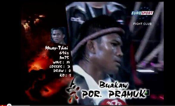 Buakaw Por. Pramuk vs Yoshihiro Sato 3 - K-1 MAX 2008.
