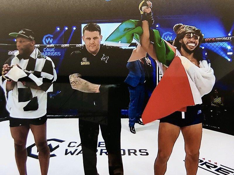 MMA - David BEAR signe un retour gagnant chez les Anglais