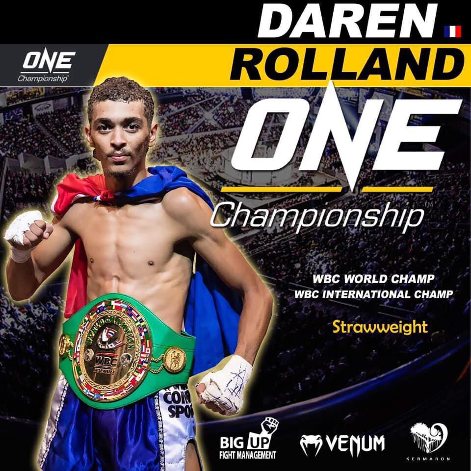 ONE - Daren ROLLAND vs SAM-A officialisé pour le 13 octobre à Tokyo