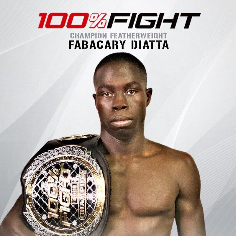 100% FIGHT 43 - Résultats: Fabacary Diatta et Kevin Petshi font le Show