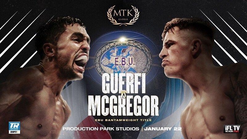 Boxe - Karim Guerfi vs Lee McGregor rebooké pour le 22 janvier