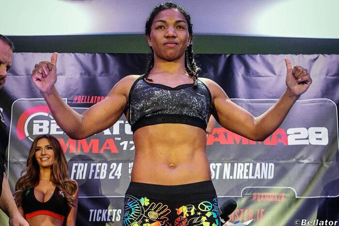 MMA - Iony RAZAFIARISON vs Olga RUBIN annoncé pour le Bellator 217
