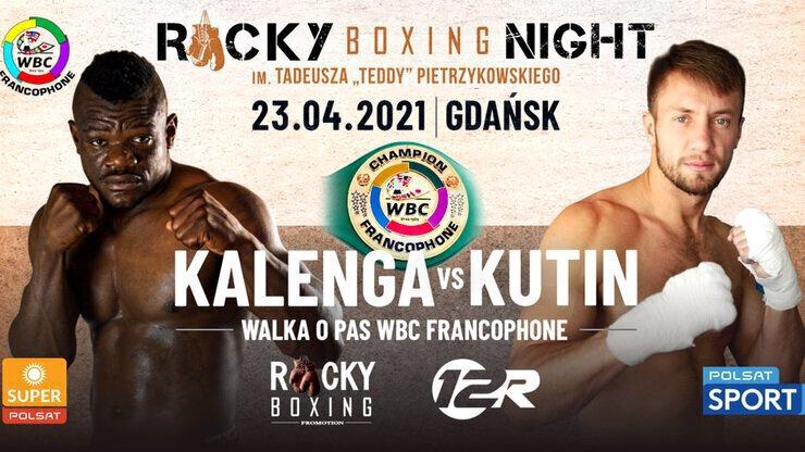 Youri Kalenga vs Stanislav Kutin pour la ceinture WBC Francophone