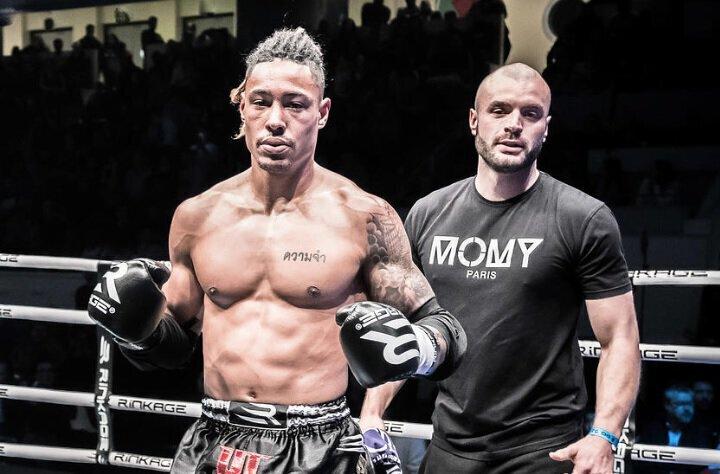 Gaetan DAMBO devient champion d'Europe de Boxe Thai