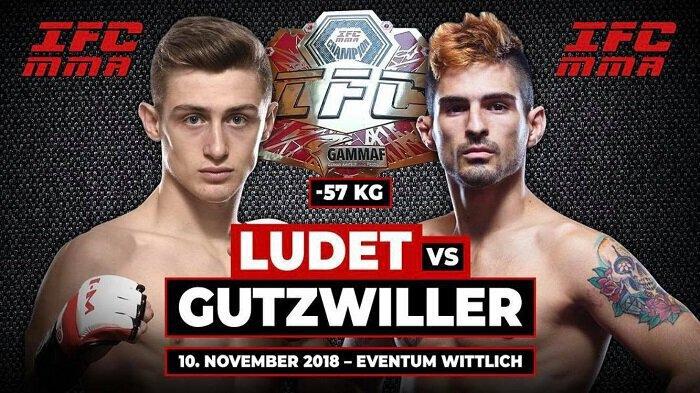 MMA - Pierre LUDET vs Frederico GUTZWILLER pour le championnat de l'Integra FC