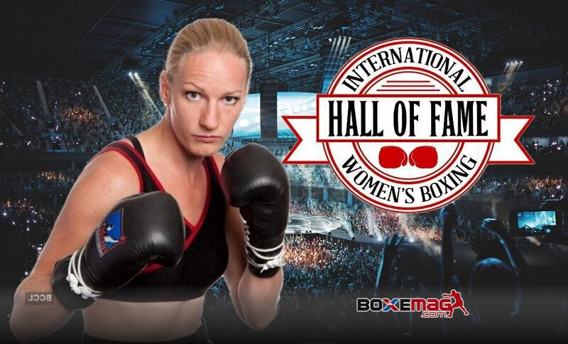 Anne-Sophie Mathis intronisée au International Women's Boxing Hall Of Fame