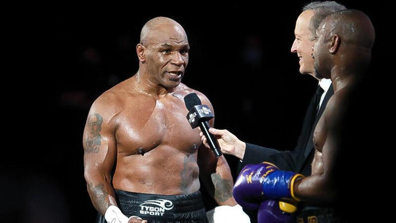 Mike Tyson envisage un combat en France évoquant Monaco et St Tropez