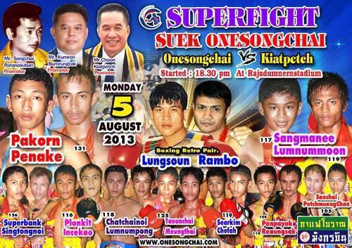 Phetmuangchon Sor Tardsart vs Sunchai Tor Laksong - Video