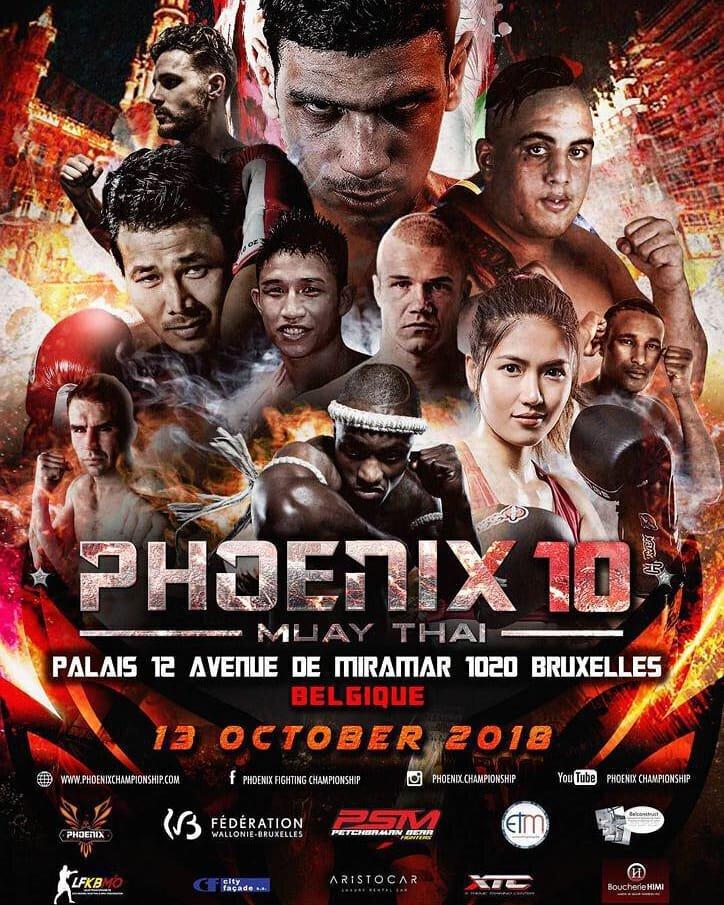 PHOENIX 10 - BOUGHANEM vs KONGJAK, Crice BOUSSOUKOU est de retour.