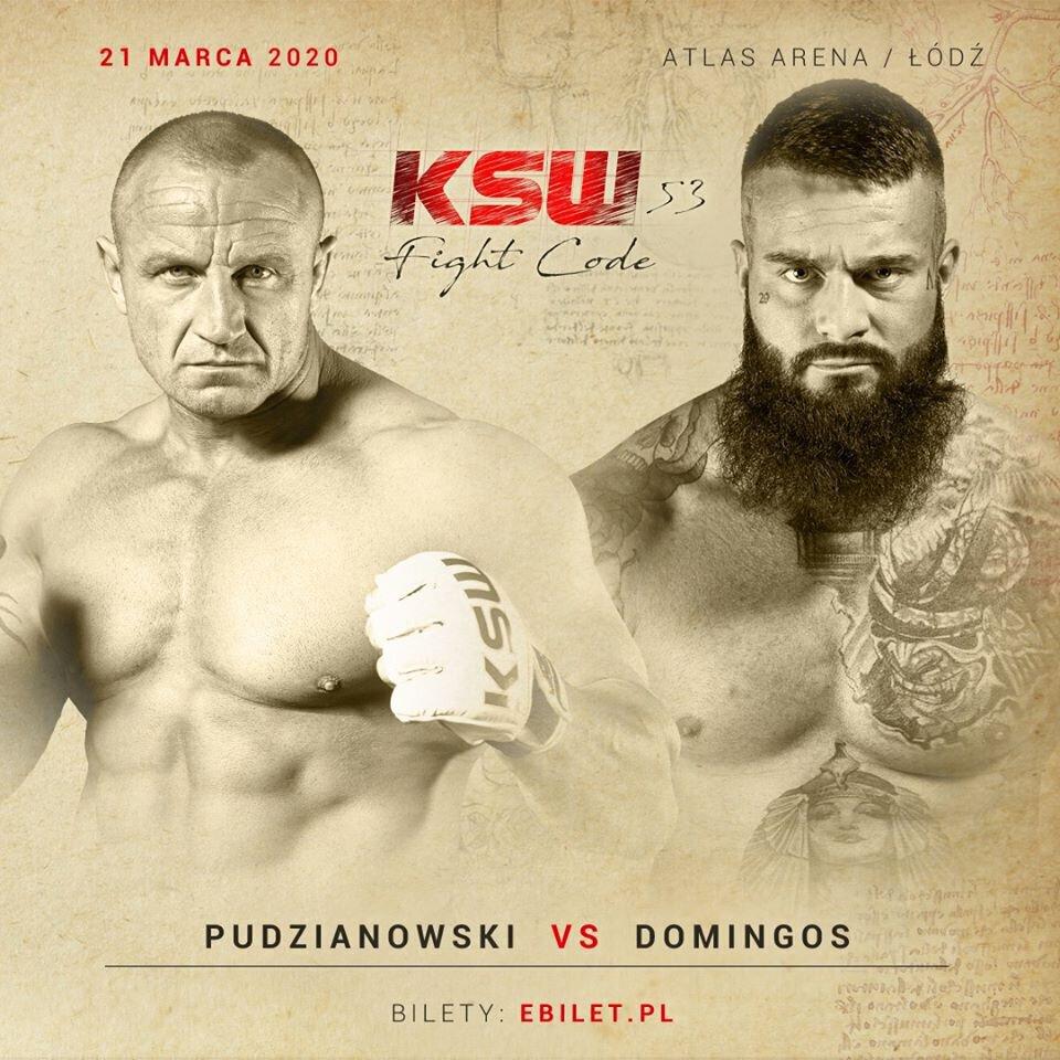 Quentin Domingos vs Mariusz Pudzianowski en combat vedette du KSW 53