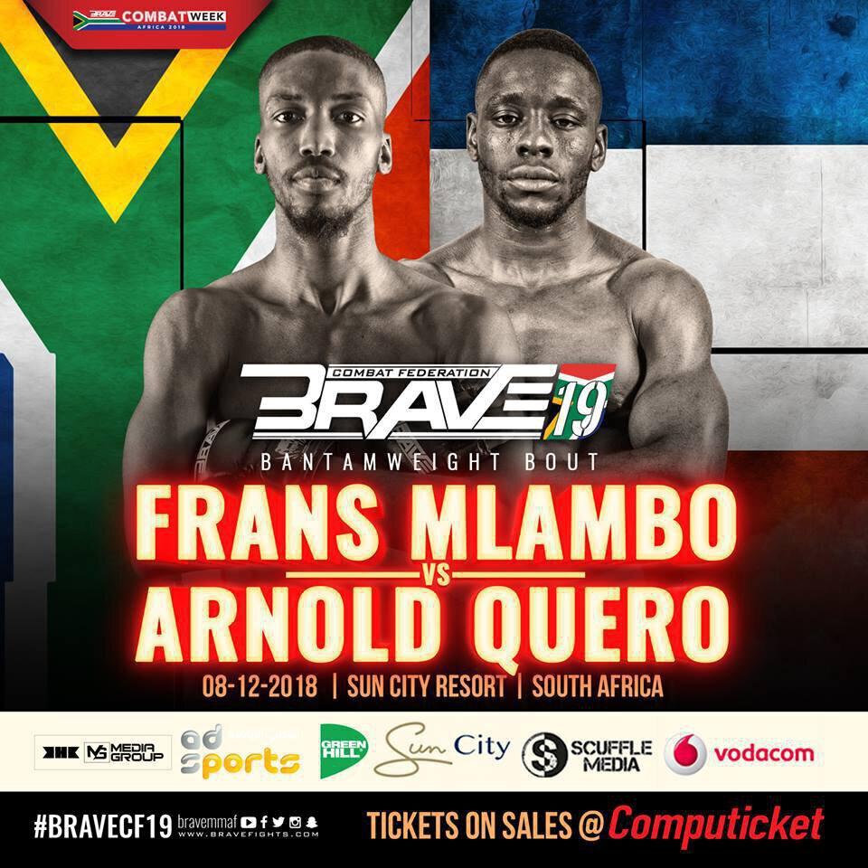 Arnold QUERO et David BEAR en Afrique du Sud pour le Brave 19