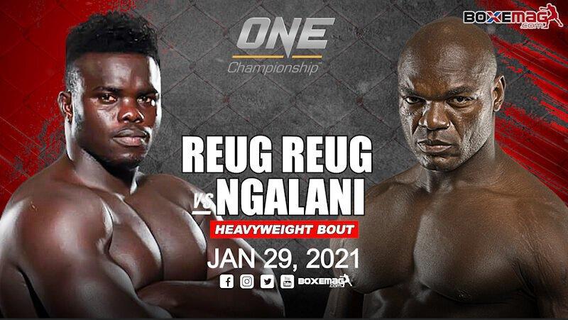 Le champion Sénégalais Reug Reug affrontera Alain Ngalani pour ses débuts au ONE