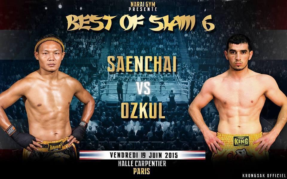 Saenchai vs Yetkin Ozkul 2 - Fight Video - BOS 6