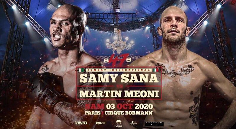 Samy Sana vs Martin Méoni le 3 octobre au Cirque Bormann à Paris