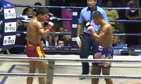 Yodkhunpol Sitmonchai vs.Yodtuantong Petchyindeeacademy 2 - Video