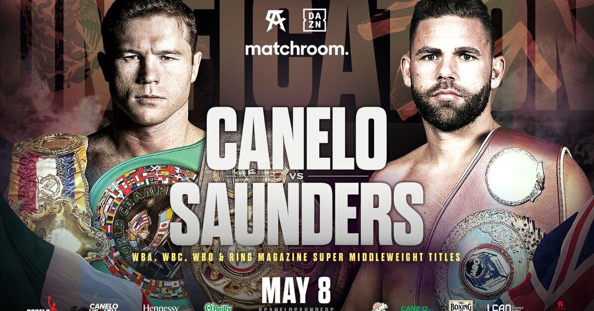 Le combat Canelo Alvarez - Billy Joe Saunders officialisé pour le 8 mai prochain