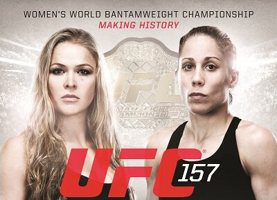UFC 157 - Rousey vs Carmouche - Video Replay.