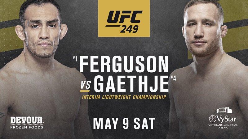 L'UFC 249 se tiendra le 9 mai en Floride confirme Dana WHITE