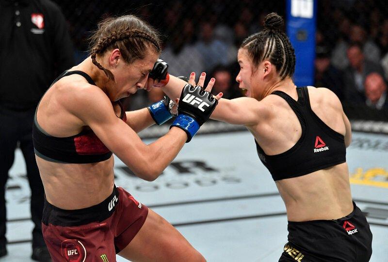 UFC - Zhang WEILI conserve sa ceinture face à Joanna JEDRZEJCZYK au terme d'un combat époustouflant !