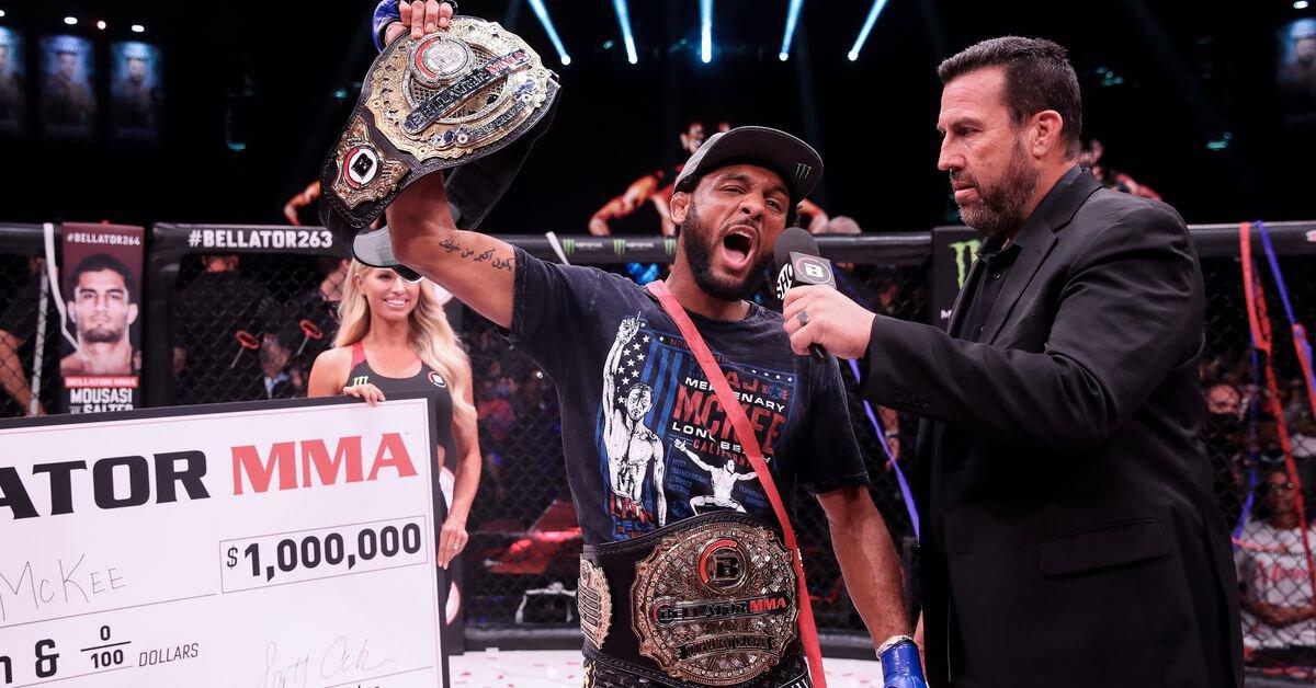 AJ McKee soumet Patricio Freire, devient champion du Bellator et remporte 1 million de dollars