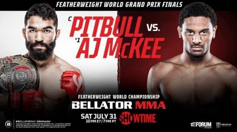 Bellator 263 - Pitbull vs McKEE - Résultats des combats