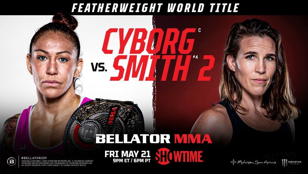 Bellator 259 Résultats - Cyborg vs Smith 2