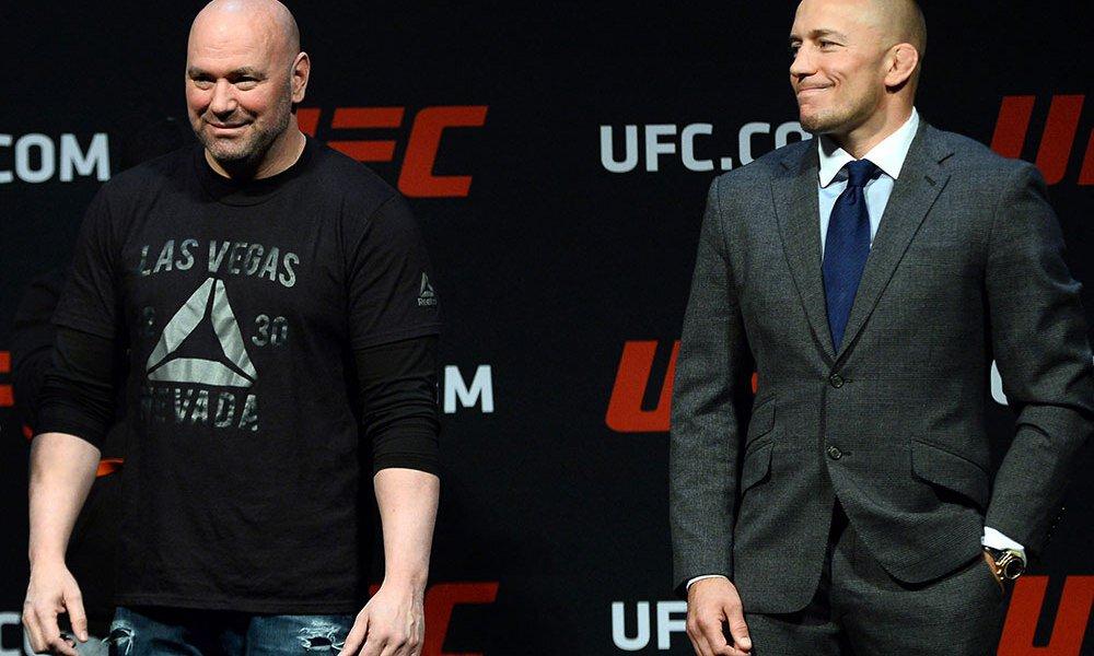 Georges St Pierre vs Oscar De La Hoya bloqué par l'UFC