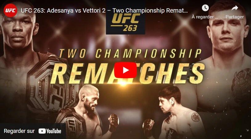 Vidéo: La bande-annonce de l'UFC 263 présente deux revanches de championnat, Leon Edwards vs Nate Diaz
