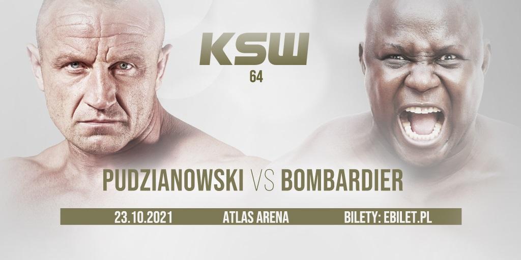 Mariusz Pudzianowski vs Bombardier prévu pour le 23 octobre au KSW 64