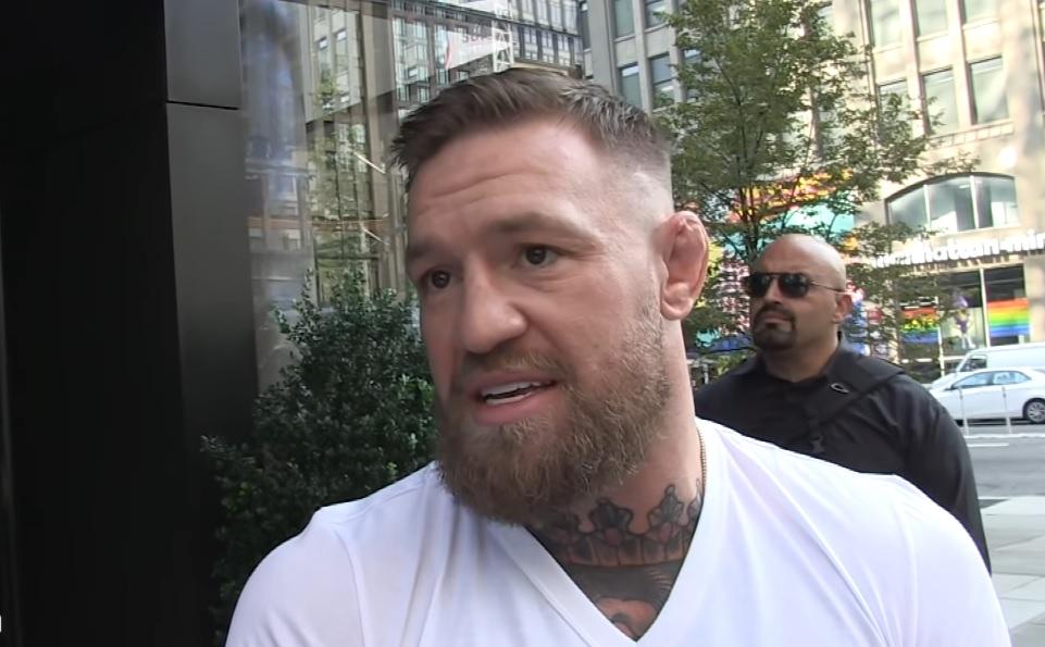 McGregor blessure