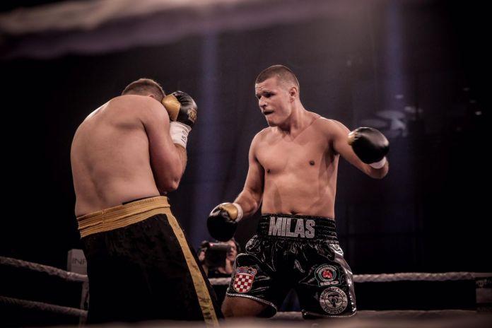 Petar Milas combat