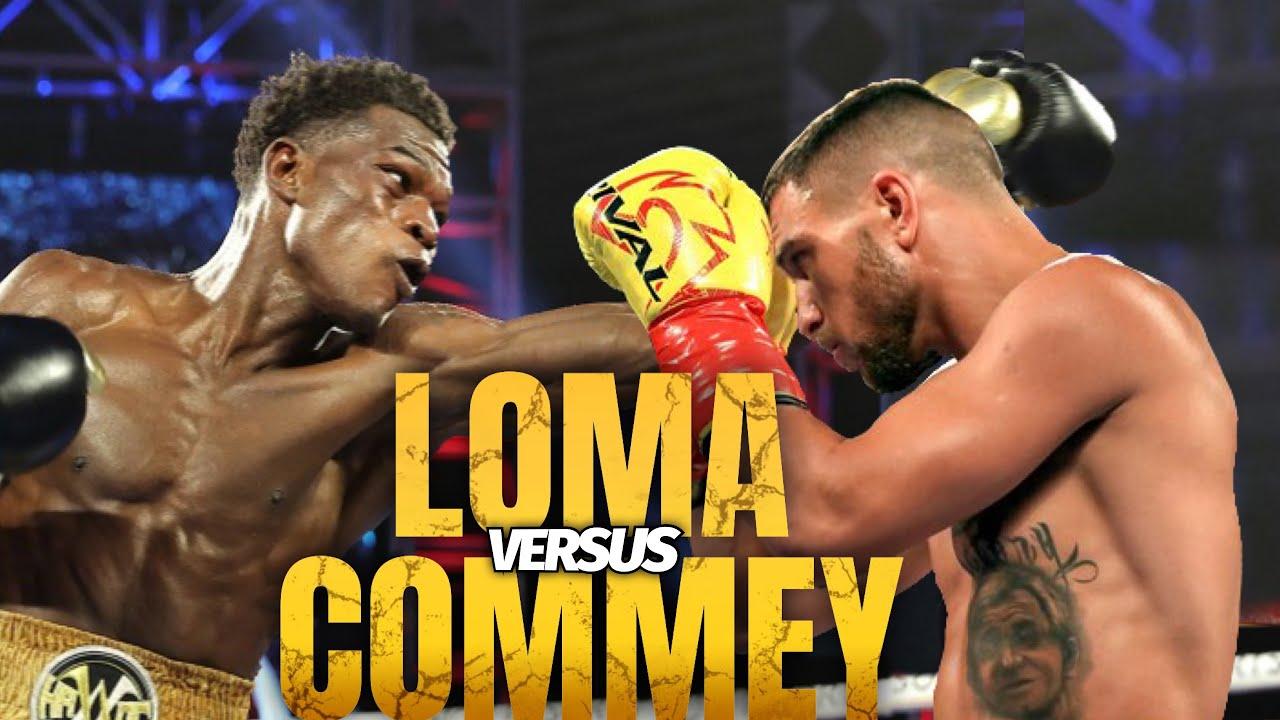 lomachenko vs commey